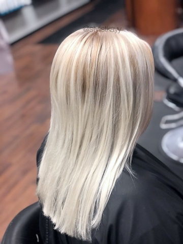 Ice blonde by Kay
